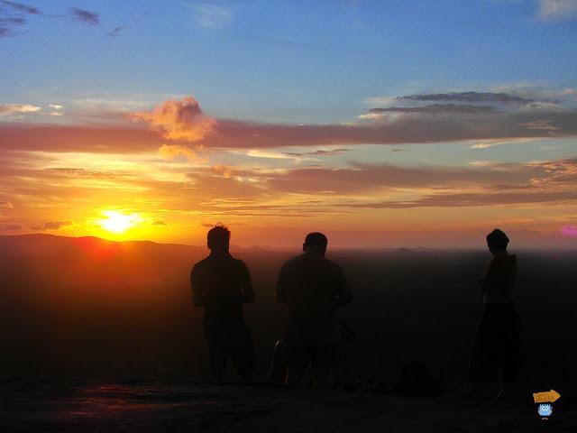 Atardecer en Pidurangala - Sri Lanka