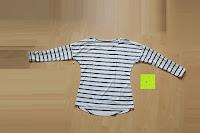 Erfahrungsbericht: Yidarton Damen Rundhals Gestreift Stretch Basic T-Shirt Oberteile Langarmshirt Loose Bluse Tops
