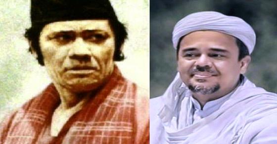 Allahu Akbar... Habib Rizieq dan Si Pitung Ternyata Bersaudara