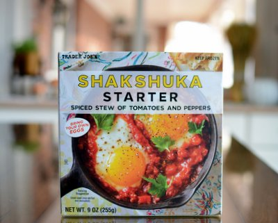 Trader Joe's Shakshuka Starter product review ♥ A Veggie Venture. Filling. Weight Watchers Friendly.