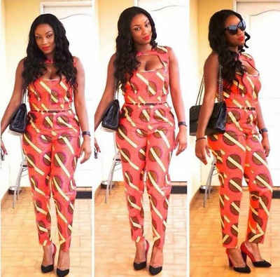 long ankara jumpsuit