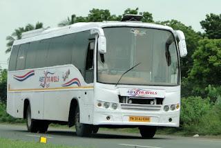chennai to munnar bus service,