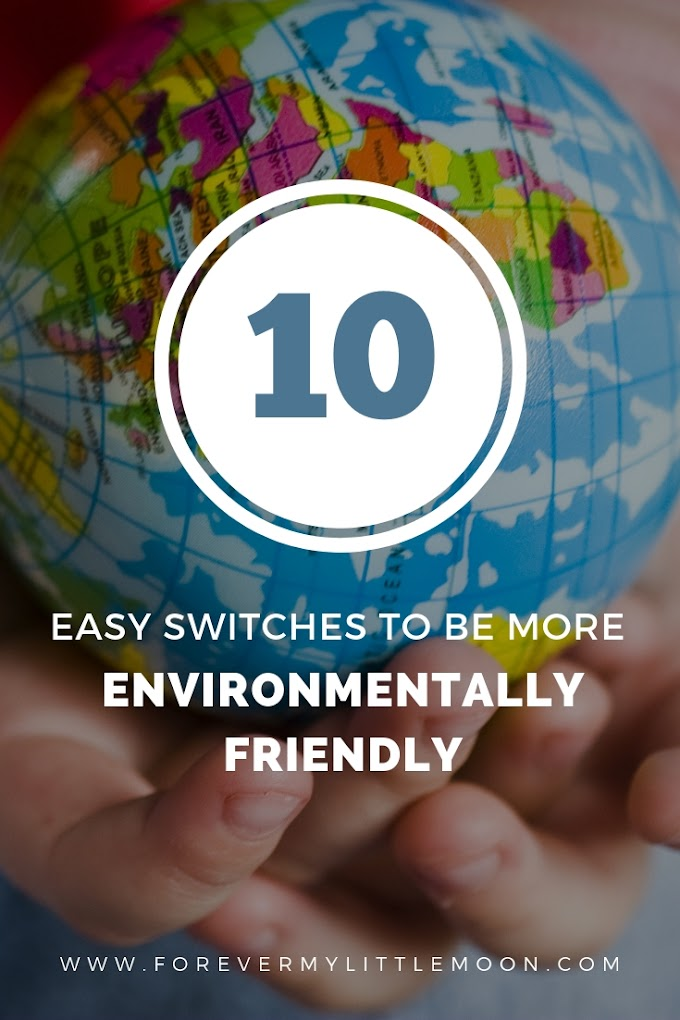 10 Easy Switches To Be More Environmentally Friendly