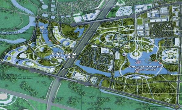 Quy hoạch hạ tầng khu vực phía Đông Bắc Hà Nội