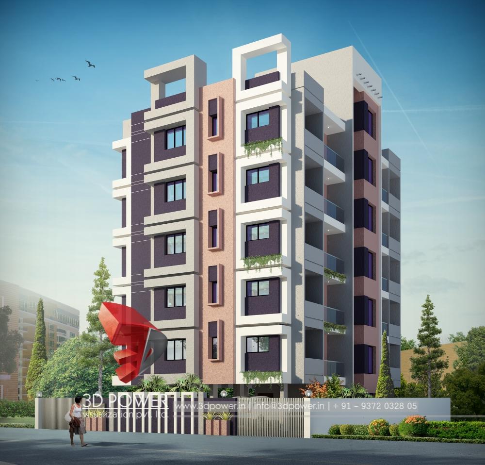 Apartment Tower Rendering: 3d Animation, 3d Rendering, 3d Walkthrough, 3d Interior