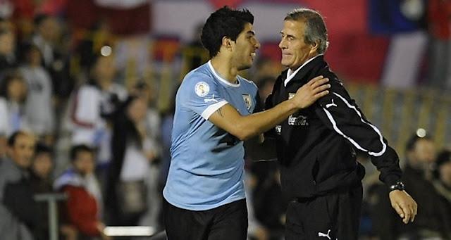 Luis Suarez dan Tabarez