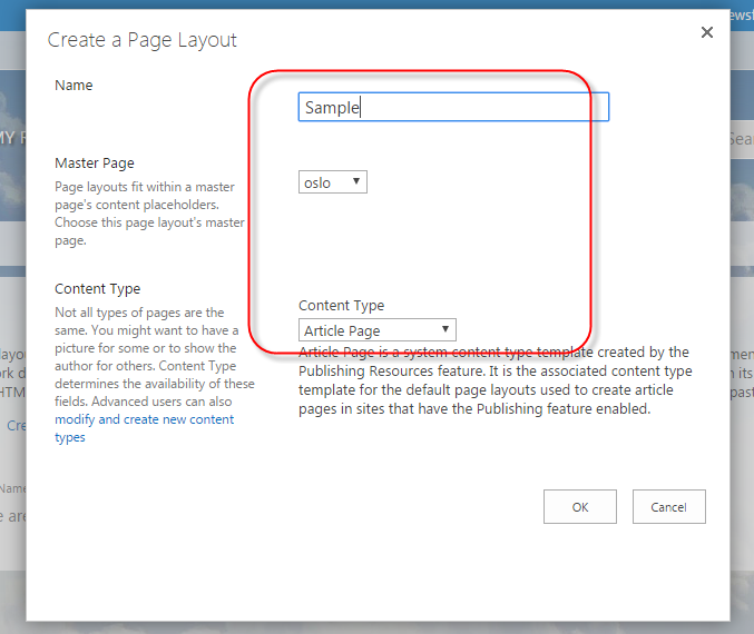 sharepoint edit page layout 2013