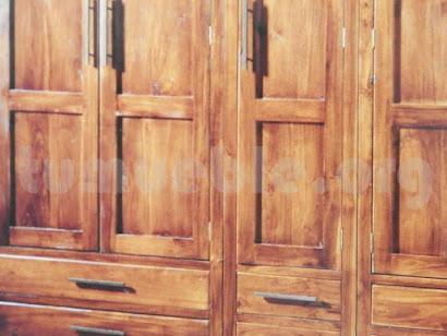 armario ropero teca 4181/6
