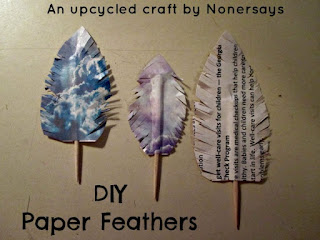 www.blogbourne.com/how-to-create-paper-feathers-from-recycled-materials/?mref=nonersays