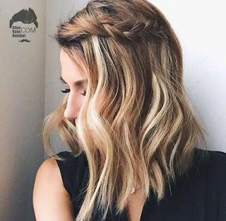 model gaya rambut sebahu