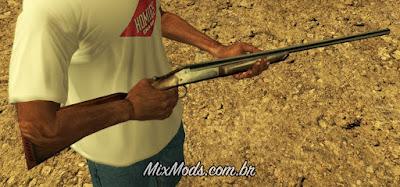 gta sa san mod cuntgun country rifle espingarda boito bolt