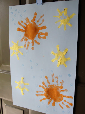 summer solstice stamp door hanger
