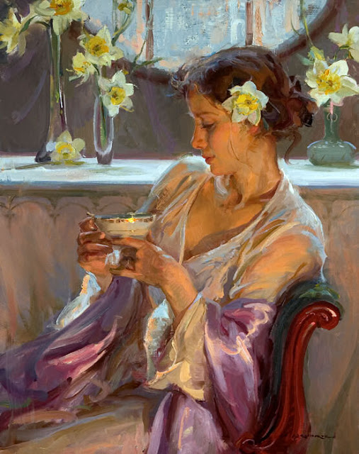 20 BEAUTIFUL PAINTINGS BY DANIEL GERHARTZ