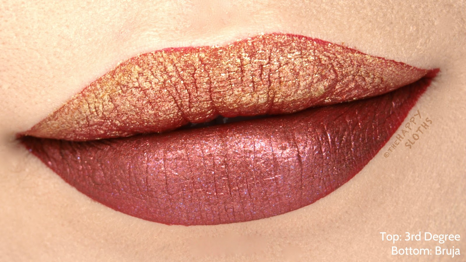 "Urban Decay Vice Special Effects Long-Lasting Water-Resistant Lip Topcoat in ""3rd Degree"" & ""Bruja"": Review and Swatches"