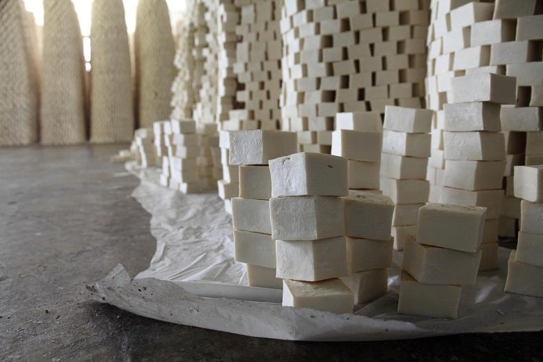 Les mystères d'une fabrique de savon