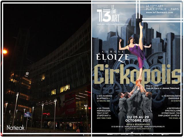 Cirkolopis au théâtre du 13eme Art à Paris