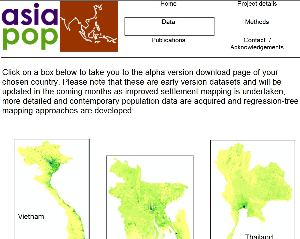 Open Source GIS Blog: Open Source Population Maps for Southeast Asia