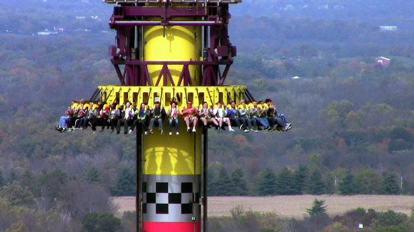 How Big Is Drop Zone At Kings Island