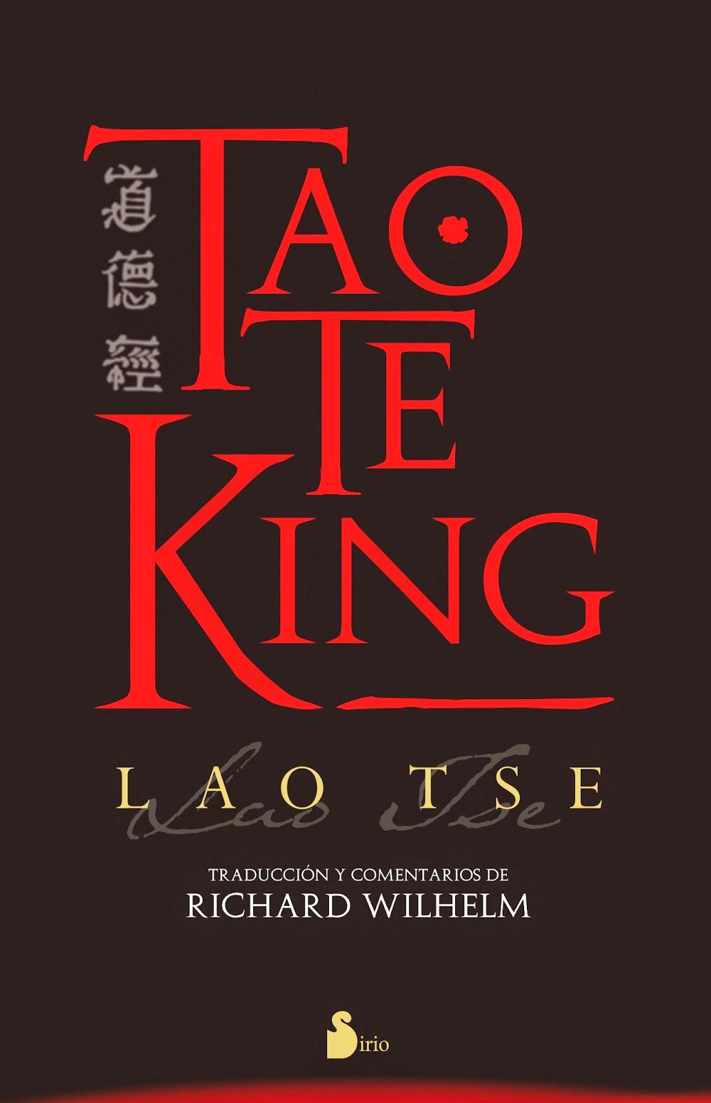 Lao-Tsé - Tao Te King, versión de Richard Wilhelm