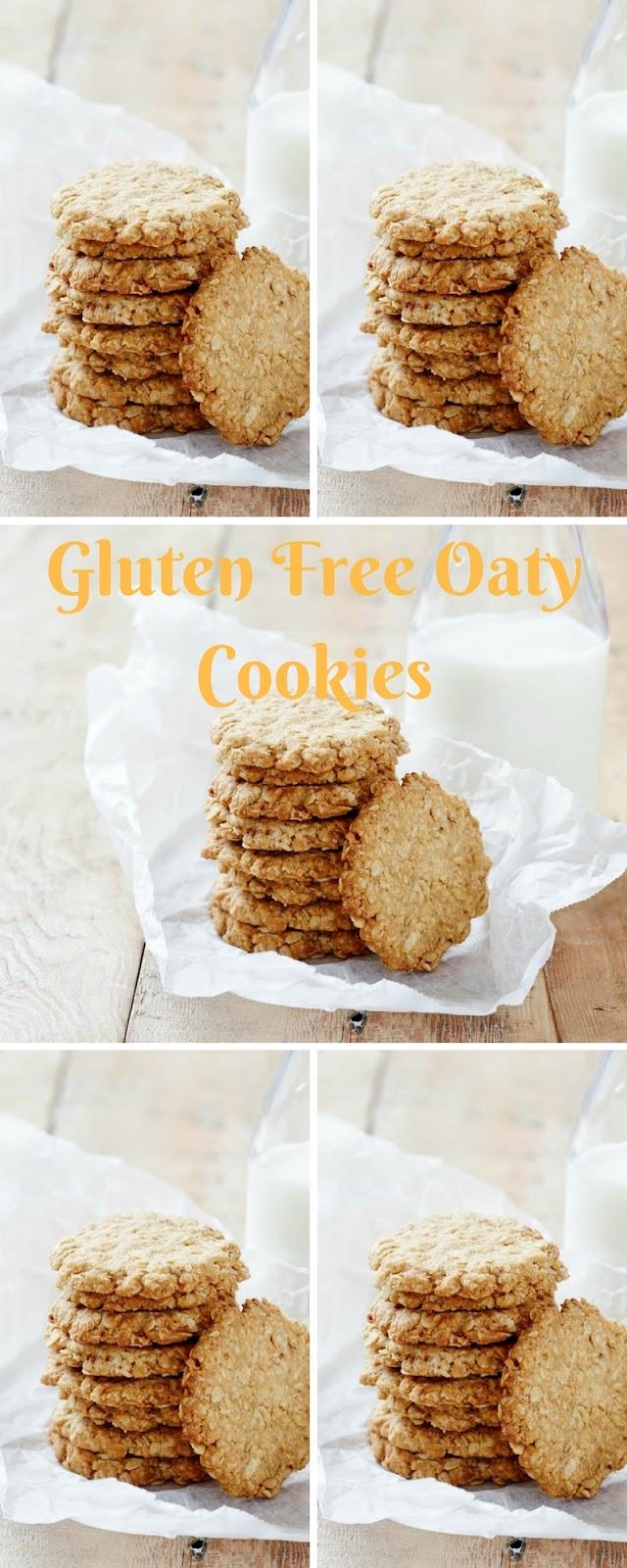 Gluten Free Oaty Cookies (Dairy + Gluten Free)