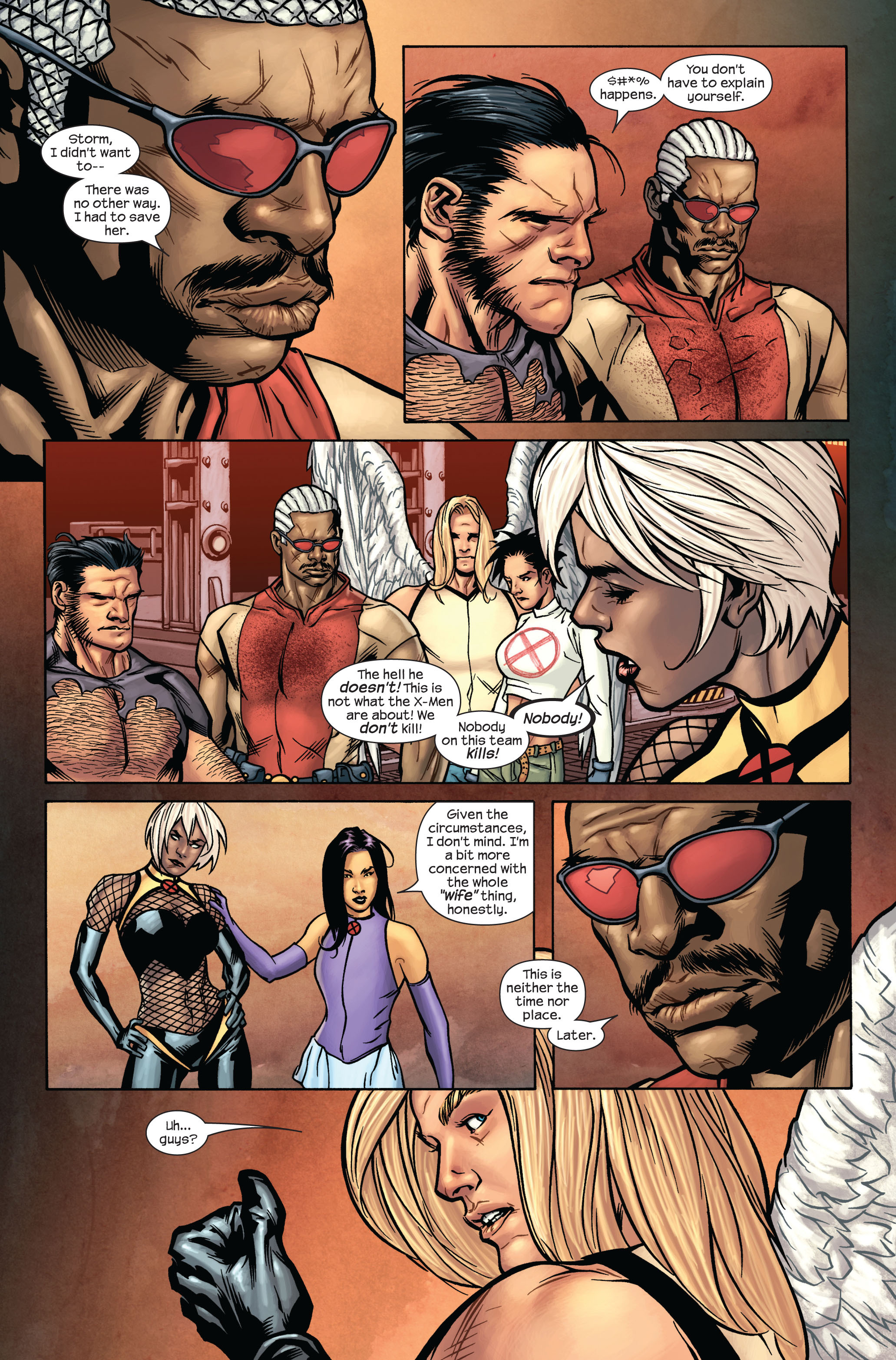 Read online Ultimate X-Men comic -  Issue #87 - 6