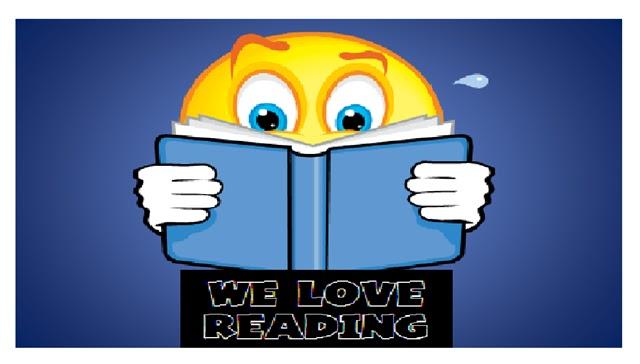 English Corner WE LOVE READING