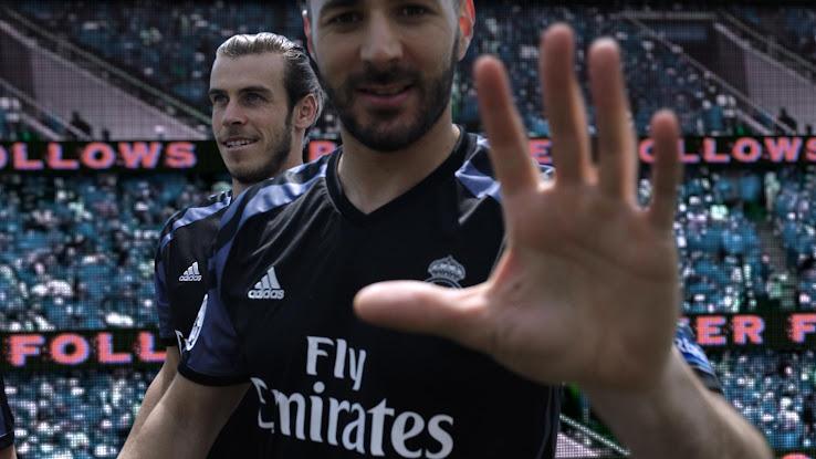 Oficial: Nueva camiseta alternativa del Real Madrid