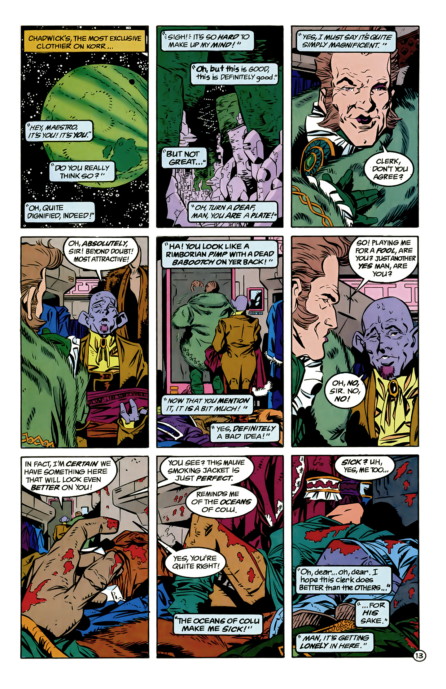Legion of Super-Heroes (1989) 6 Page 13