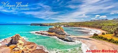 "keindahan pantai pacitan "" wisata pantai klanyar"""