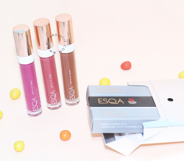 ESQA Matte Lip Liquid Review