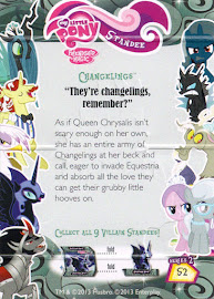 My Little Pony Changlings Series 2 Trading Card