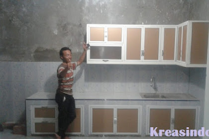 Jasa Kitchen Set Aluminium di Jogja, Solo dan Klaten