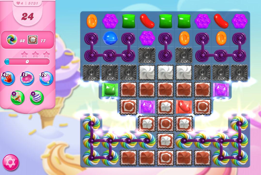 Candy Crush Saga level 5731
