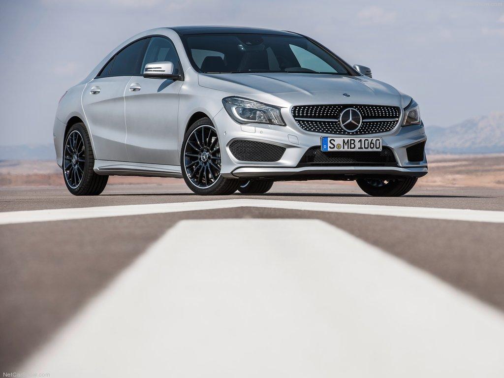 Четырехдверное купе Mercedes-Benz CLA может дебютировать в Детройте 13
