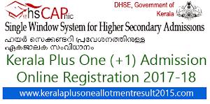 Kerala DHSE/ VHSE admission 2017 - Kerala HSCAP online registration