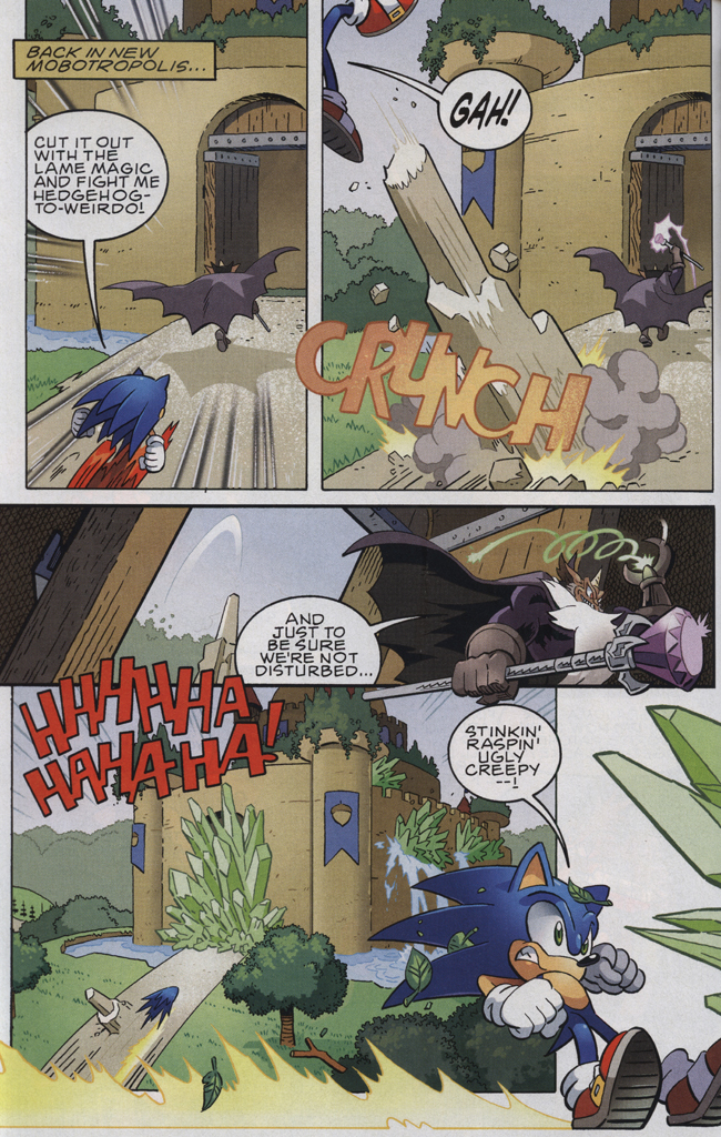 Read online Sonic The Hedgehog comic -  Issue #223 - 16