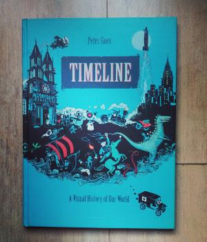 Timeline de Peter Goes, una historia visual de nuestro mundo - Gecko editorial