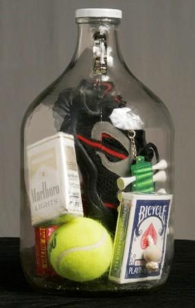 cara memasukkan barang dalam botol kaca