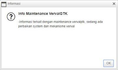 maintenance mekanisme verval ptk