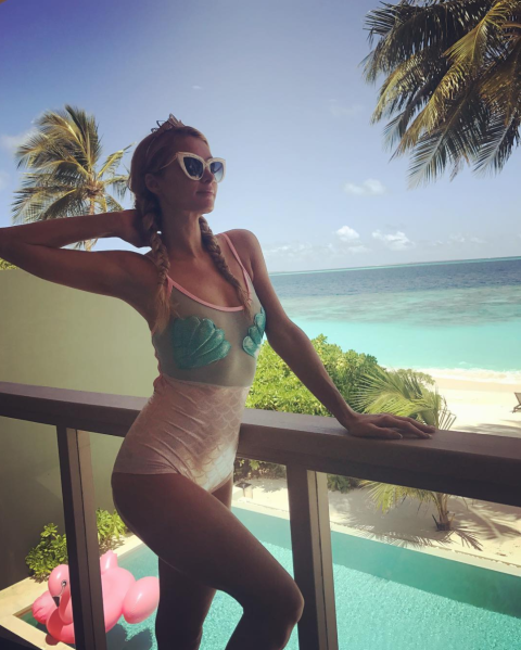 Celebs in trendy One-Piece Swimsuits