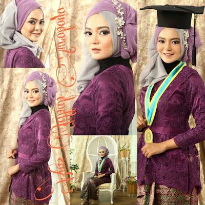 hijab wisuda simpel