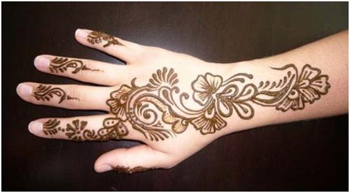 Hand Mehndi New Design : Simple but beautiful mehandi designing new designs