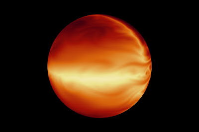 A highly eccentric exoplanet