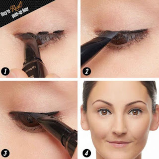 dash technique for the perfect winged eye