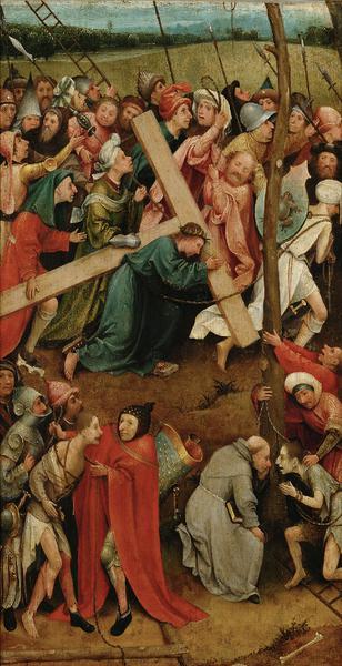 El Bosco - Cristo con la Cruz a cuestas -ca. 1500