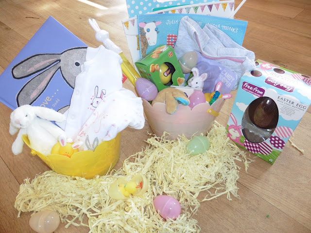 girls easter baskets