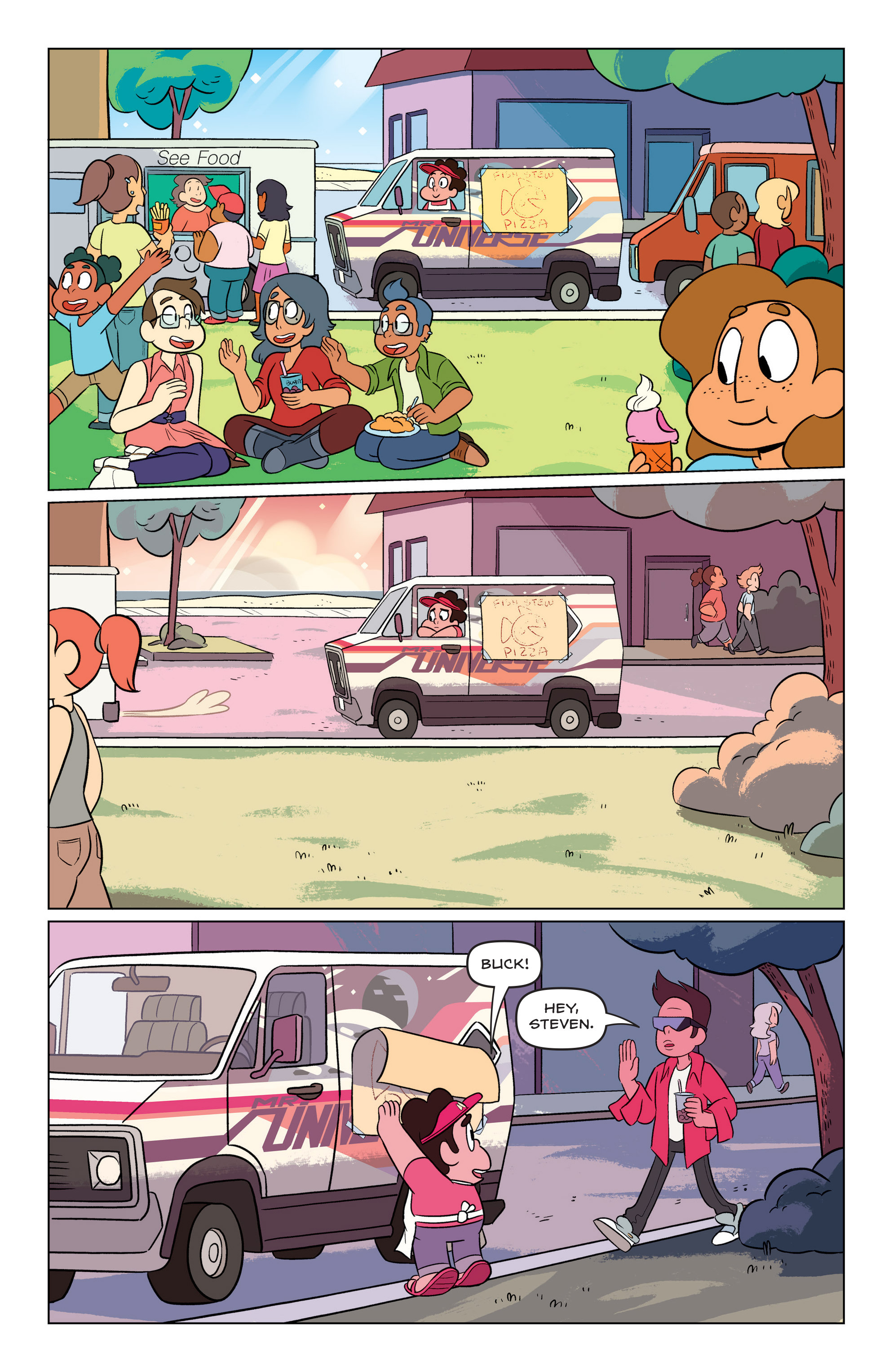 Read online Steven Universe Ongoing comic -  Issue #3 - 14