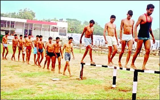 Chandauli  Army Rally, Indian Army Rally, Open Bharti Rally