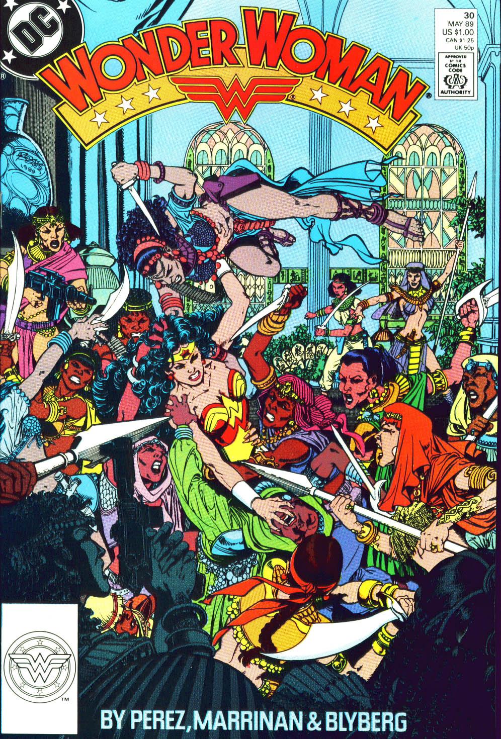 Read online Wonder Woman (1987) comic -  Issue #30 - 2