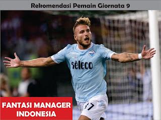 rekomendasi pemain giornata 9 liga fantasia serie a fantasi manager indonesia